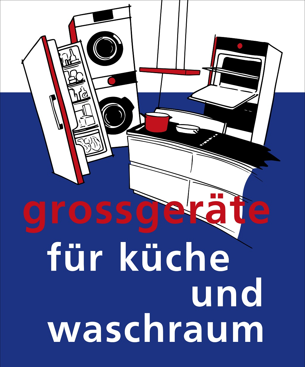 Grossgeräte in unserem Show-Room